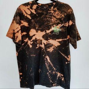 Vintage Hard Rock Las Vegas Hotel Bleached T-Shirt